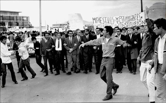 5 de agosto 68 marcha de estudiantes desde zacatenco hasta santo tomas 3