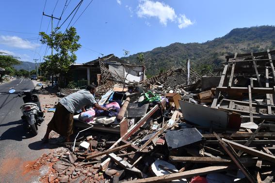 terremoto en indonesia imagenes 1