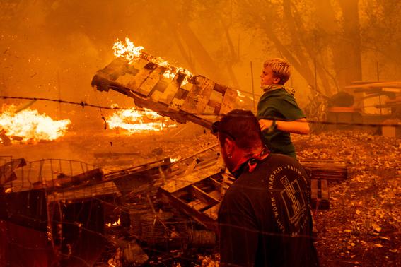 incendio carr en california imagenes 9
