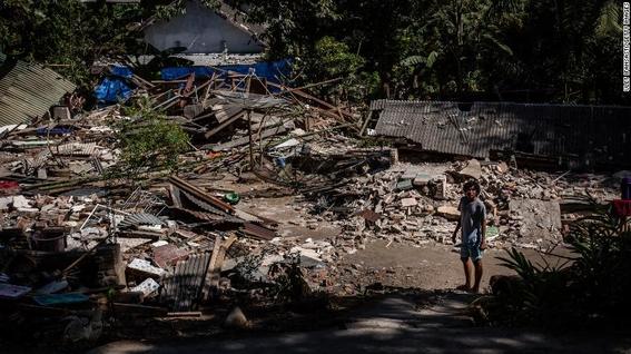 terremoto en indonesia muertos 1