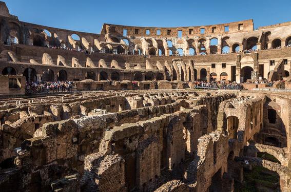 coliseo romano acontecimientos 1