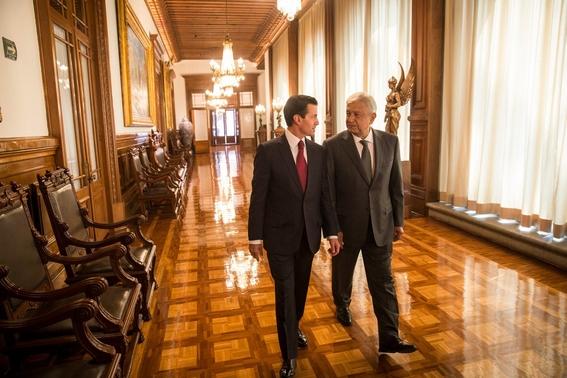 segunda reunion entre amlo y epn en palacio nacional 2