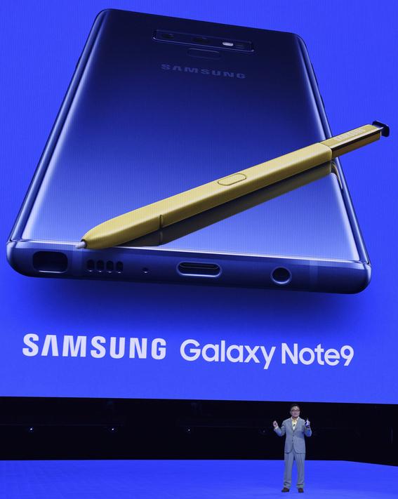samsung presenta su galaxy note 9 1