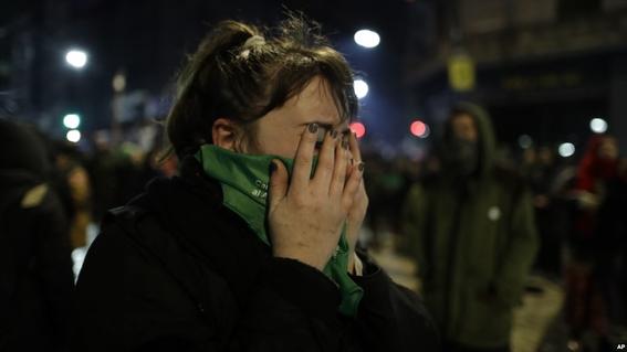 argentina rechazo la ley del aborto 3