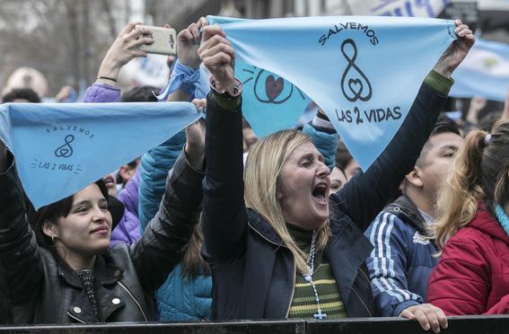 argentina rechazo la ley del aborto 5