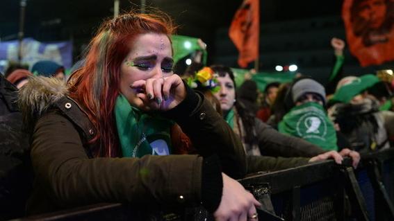 argentina rechazo la ley del aborto 6