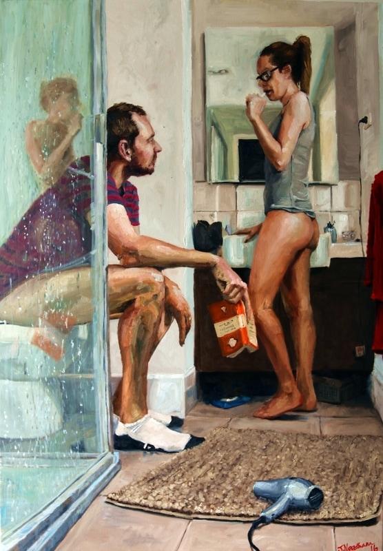 pinturas de james needham de parejas y erotismo 3