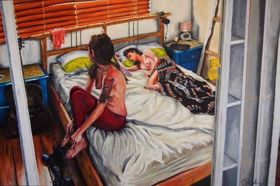 pinturas de james needham de parejas y erotismo 6