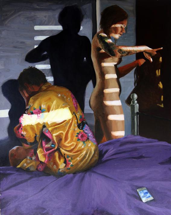 pinturas de james needham de parejas y erotismo 10