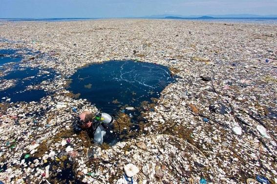 isla de basura y plastico en oceano pacifico 3