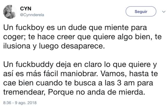 diferencia entre fuck buddy y fuck boy 3