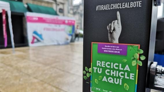primer programa de reciclaje de chicles en mexico 2