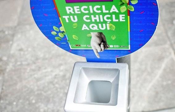 primer programa de reciclaje de chicles en mexico 3