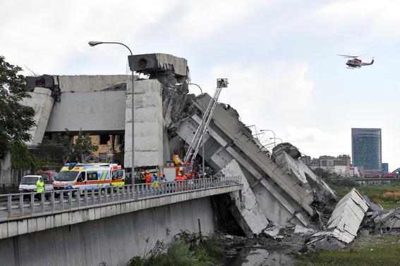 derrumbe del puente morandi en italia 3