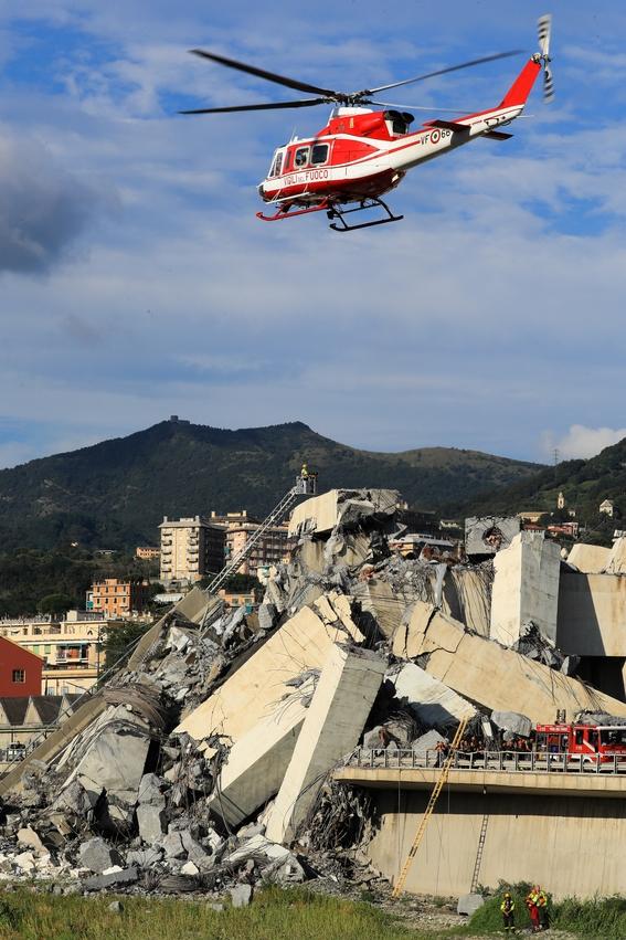 derrumbe del puente morandi en italia 8