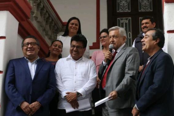 amlo anuncia la creacion del instituto nacional de pueblos indigenas 1