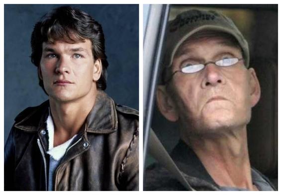 fotografias de patrick swayze antes y despues del cancer 4