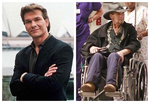 fotografias de patrick swayze antes y despues del cancer 10