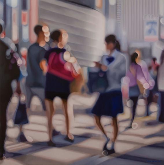 pinturas de como se ve el mundo con miopia 2