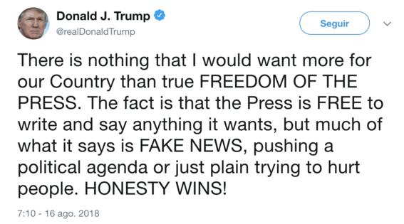donald trump contra los medios de comunicacion 1