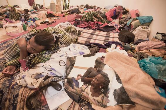 fotos de los haitianos en tijuana 3