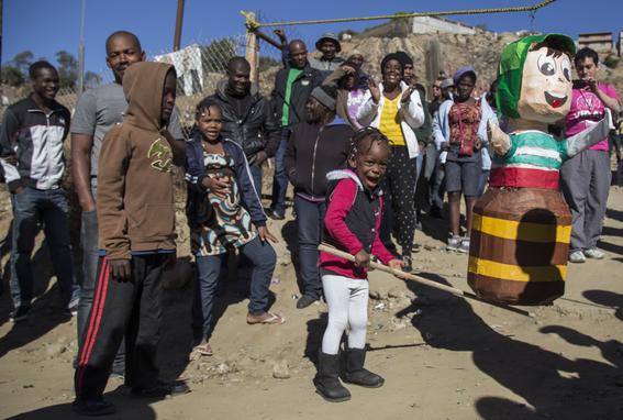 fotos de los haitianos en tijuana 5