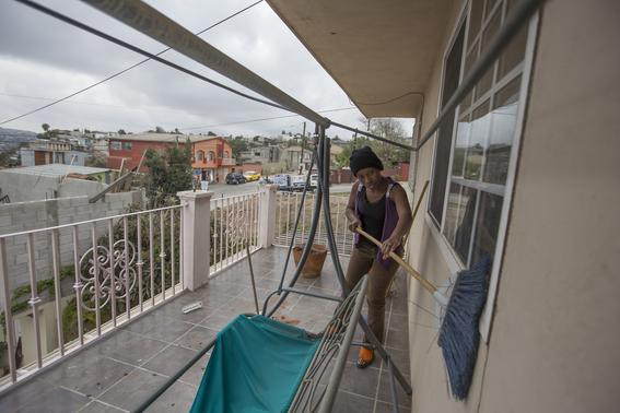 fotos de los haitianos en tijuana 7