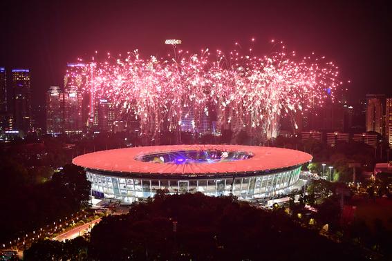 dos coreas desfilan juntas en apertura de juegos asiaticos 3