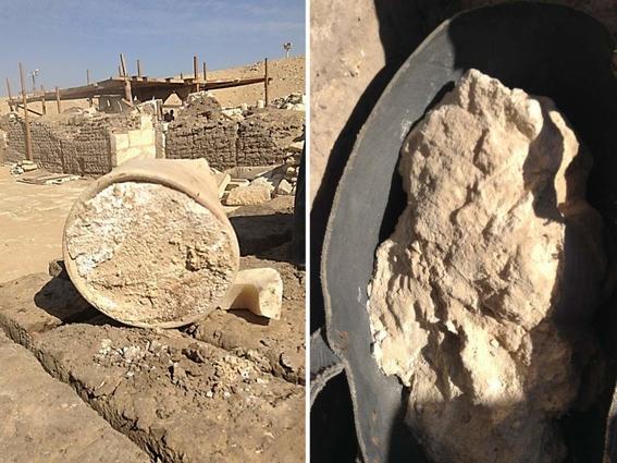 el queso mas antiguo del mundo en tumba de egipto 2