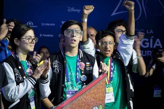 mexico ocupa el numero 12 en el mundial de robotica first global challenge 2