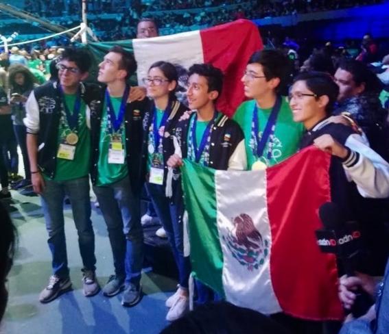 mexico ocupa el numero 12 en el mundial de robotica first global challenge 4