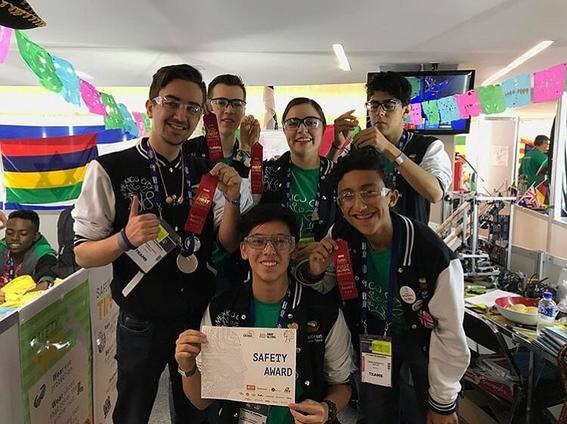 mexico ocupa el numero 12 en el mundial de robotica first global challenge 5