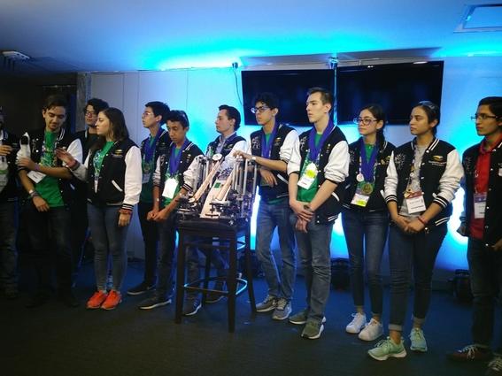 mexico ocupa el numero 12 en el mundial de robotica first global challenge 1