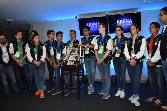 mexico logra medalla de plata en mundial de robotica 3