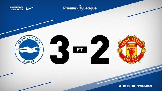 manchester united pierde brighton en premier league 1