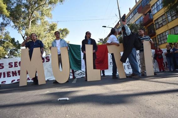 damnificados convocan a marcha en aniversario del 19s 2