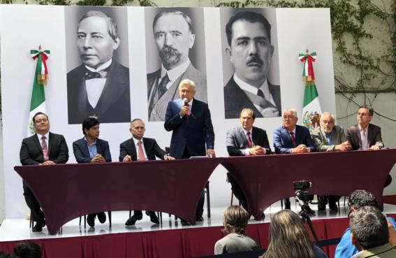 amlo anuncia a lazaro cardenas batel su equipo en presidencia 1