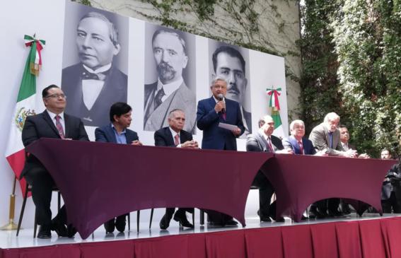 amlo anuncia a lazaro cardenas batel su equipo en presidencia 2
