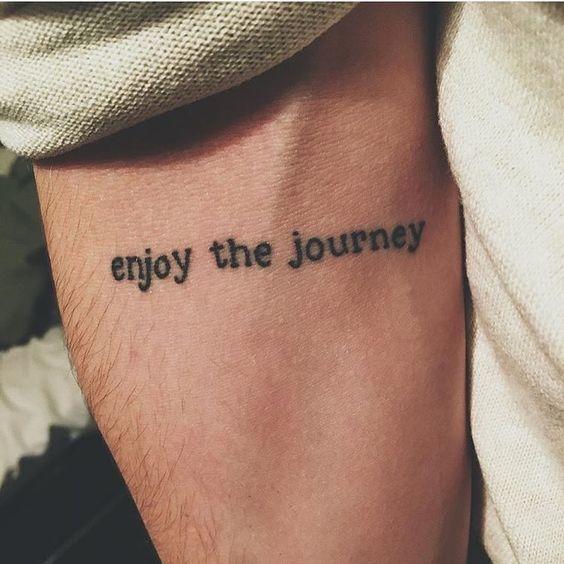 inspiring quote tattoos 1