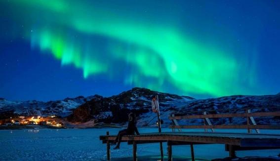 steve fenomeno optico que parece aurora morada 1