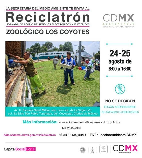 reciclatron en la cdmx 2