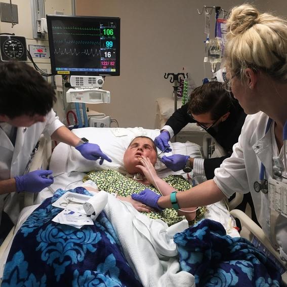 fotos del trasplante de cara mas dificil 18