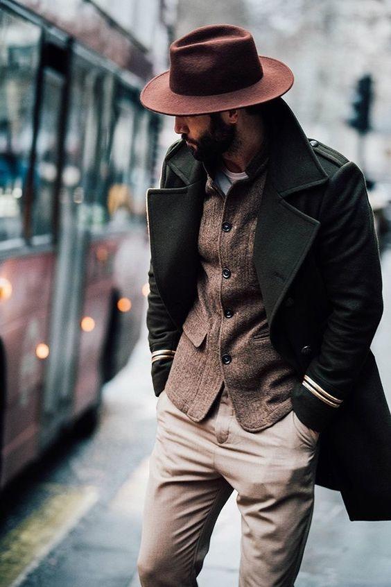 como usar sombreros de hombre 2