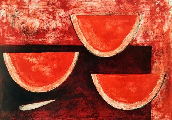 rufino tamayo watermelons and nature paintings 10
