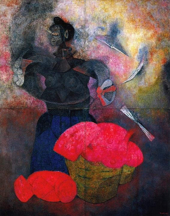 rufino tamayo watermelons and nature paintings 9