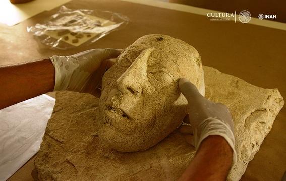 hallan mascara del rey maya pakal en palenque 2