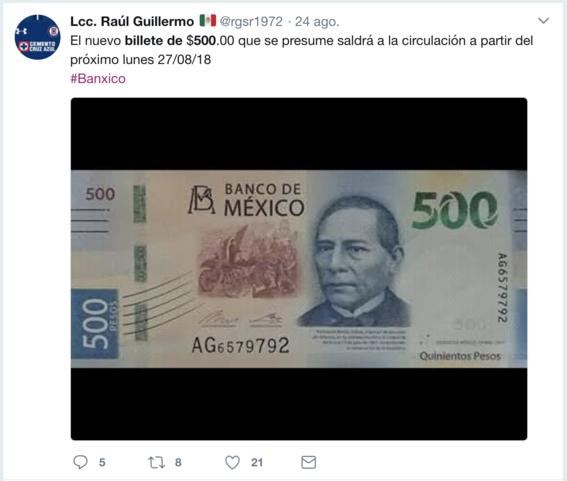 banco de mexico presentara nuevo billete de 500 6