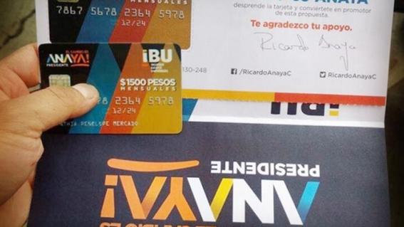 tarjetas firmadas por anaya son propaganda permitida 1