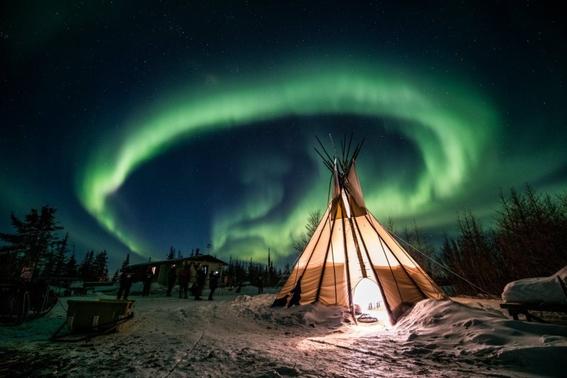auroras boreales en suecia 2