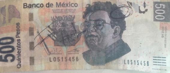 nuevo billete de 500 pesos mexicanos 2